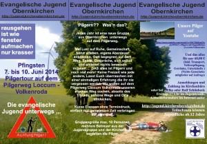 Pilger Flyer 2014